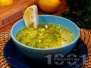 Рецепта Класическа домашна пилешка супа с картофи, фиде и топла варена застройка